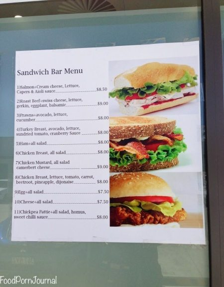 Iron Knob Fyshwick menu