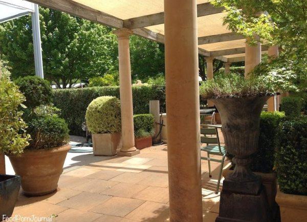 Rodney's Garden Cafe outdoors
