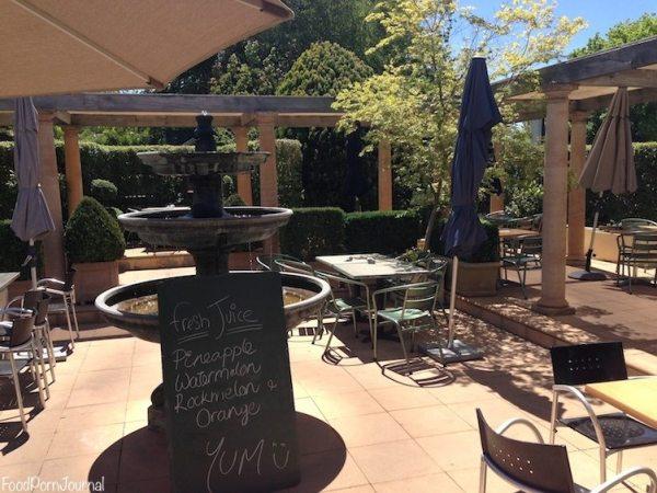 Rodney's Garden cafe outdoors 1