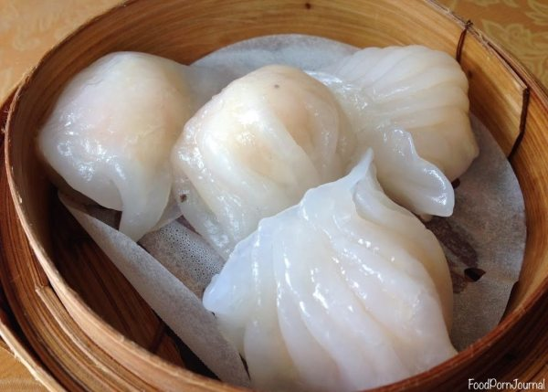 Spicy Ginger yum cha prawn dumplings