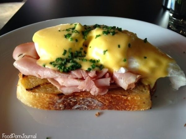 The European eggs benedict