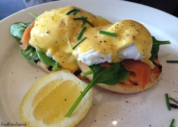 Ellacure Belconnen eggs benedict