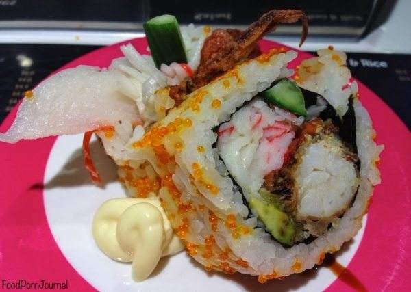 Hero Sushi Train soft shell crab