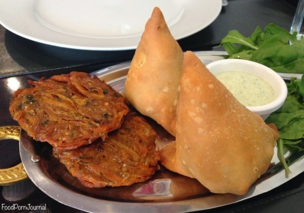 Indian Grill Canberra samosa
