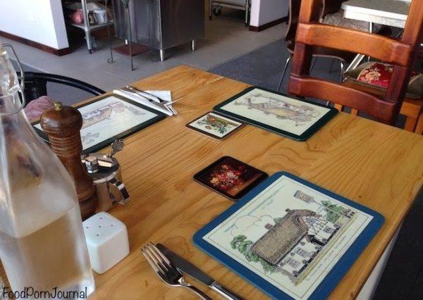 Mrs Sackville Kingston table