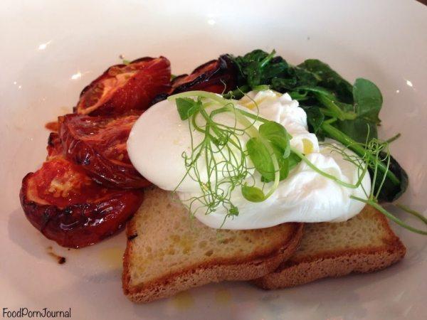 Trev's Dickson poached eggs