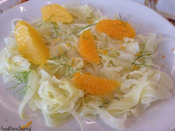 Jamie's Italian orange fennel salad