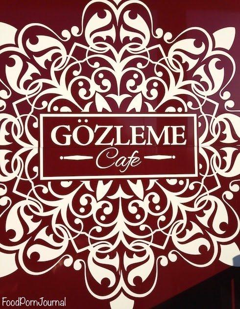 Gozleme cafe Civic