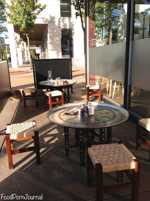 Gozleme cafe turkish tables