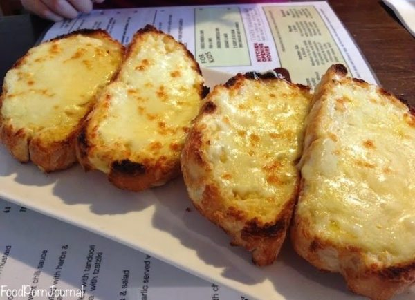 Zierholz brewery canberra cheesy bread