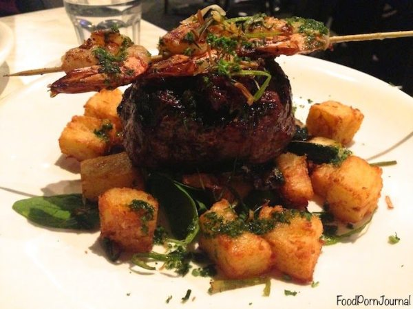WIlbur's Cafe Hackett steak