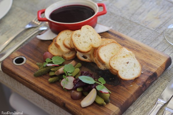 Muse Kitchen duck liver pate
