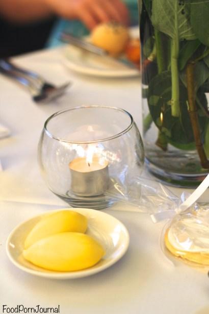Muse Restaurant butter
