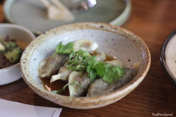 Akiba Canberra short rib dumplings