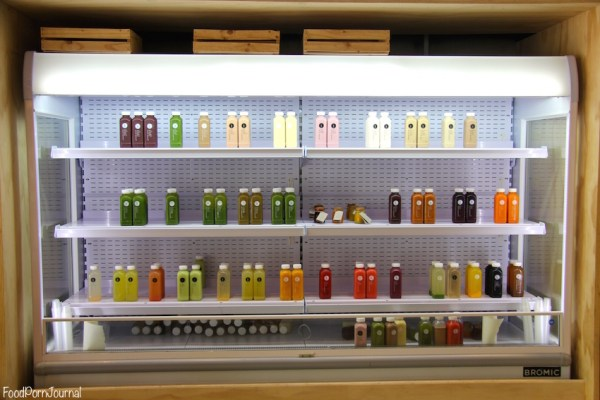 Pressed Juices Manuka cabinet