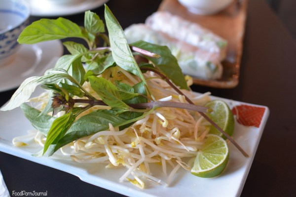 Bistro Nguyens bean sprouts