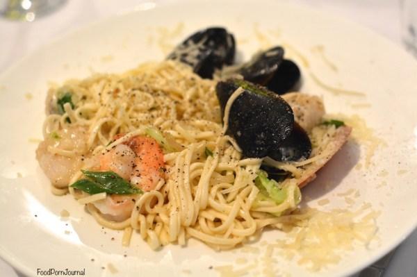 Olive at Mawson seafood spaghetti