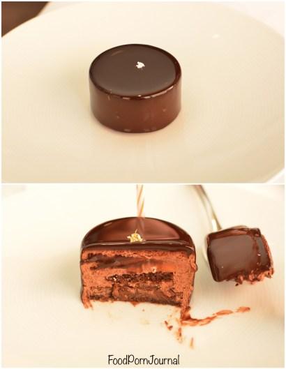 Tetsuya's Sydney inside chocolate cake
