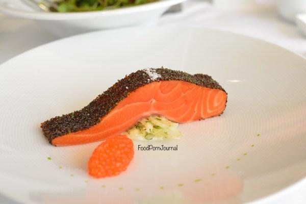 Tetsuyas Sydney ocean trout seaweed crust