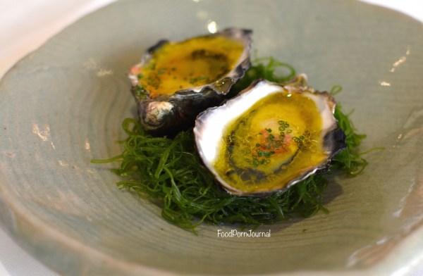 Tetsuyas Sydney oysters