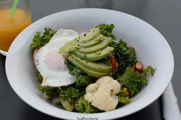 Wheat and Oats breakfast salad