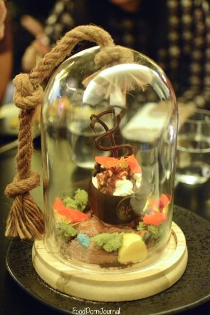 Om Nom Dessert Bar Melbourne chocolaterrarium