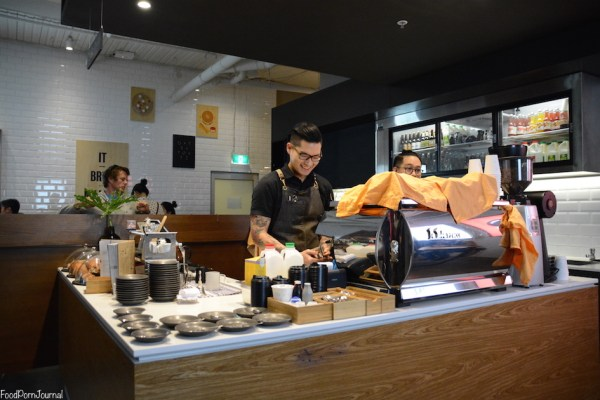 Operator 25 Melbourne coffee counter