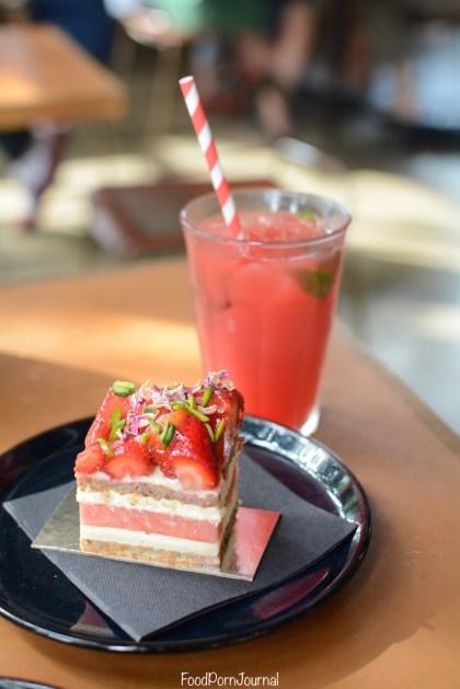 Black Star Pastry watermelon cake watermelon juice