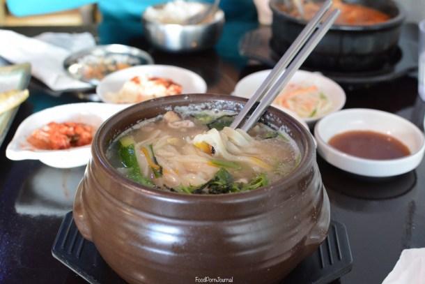 Arirang Korean Gungahlin noodle soup