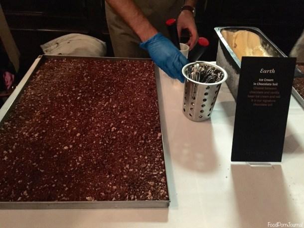 Koko Black ice cream chocolate soil