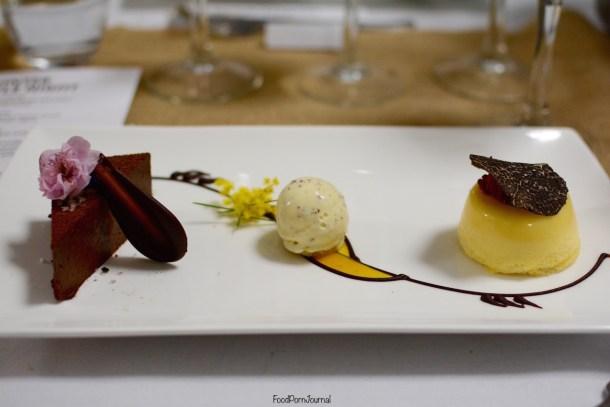 Southern Cross yacht Club truffle dessert