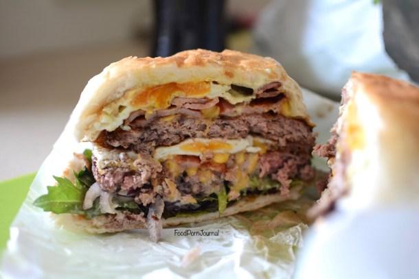 Brodburger double cheeseburger