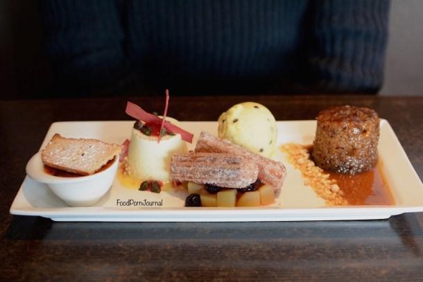 Ellacure dessert tasting plate