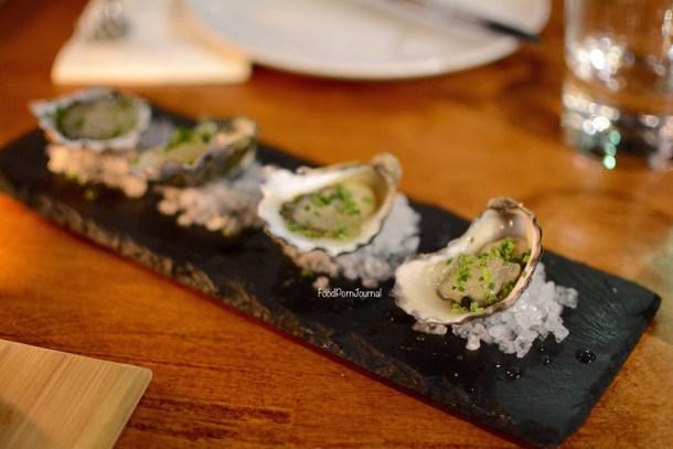Vitis Eatery Braddon oysters