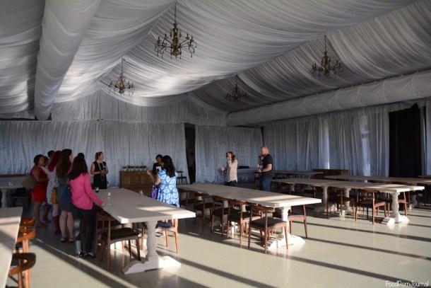 Pialligo Estate Farmhouse wedding reception