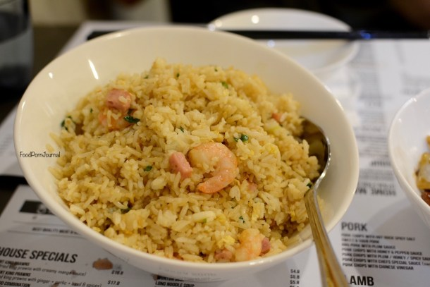 Orient Kitchen fried rice