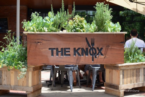 The Knox Made in Watson outside