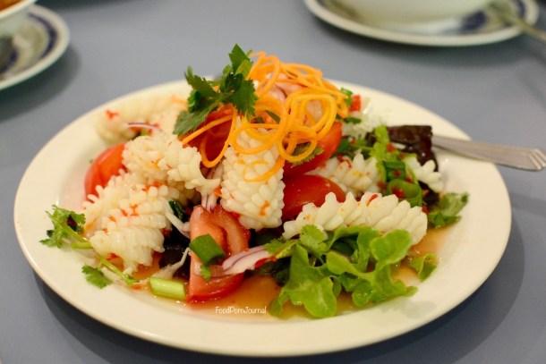 Thip's Thai squid salad