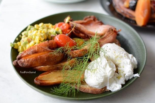 Pialligo Estate Garden Pavilions breakfast