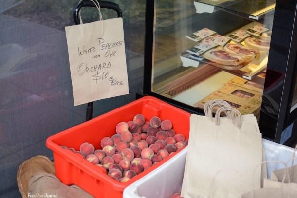 Pialligo Estate peaches