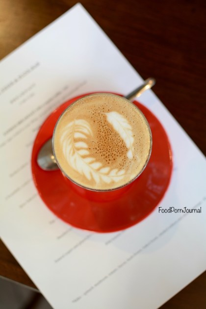 Remi Food & WIne Bar Canberra flat white