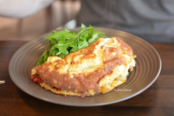 Remi Food & WIne Bar Canberra omelette