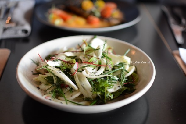 Temporada Canberra fennel salad