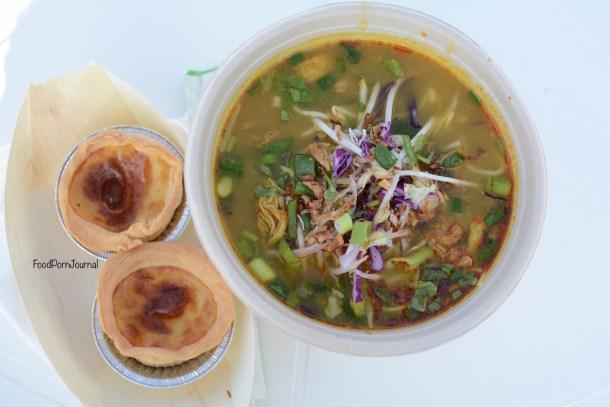 Enlighten Night Noodle Markets Miss Vans curry noodle soup