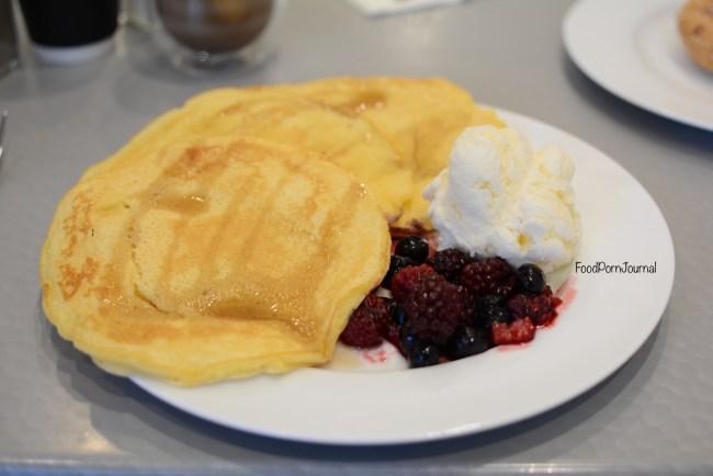 Hot Pop Cafe Braddon buttermil pancakes