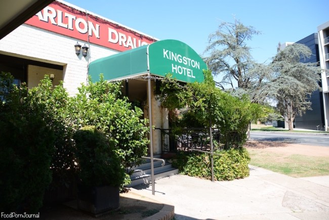 Kingston Hotel front