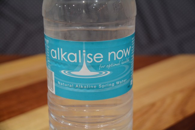 Walter G's Pizza Obsession alkaline water