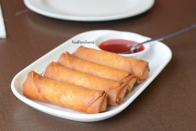 Empire BBQ Cafe Dickson spring rolls
