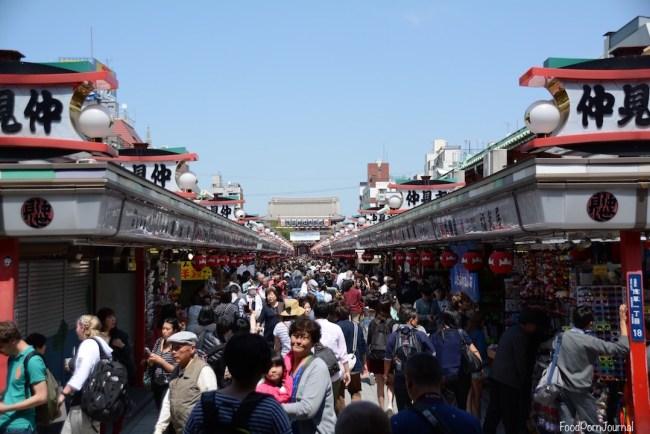 Tokyo Asakusa Nakamise shopping street