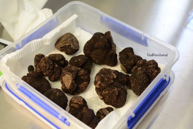 Blue Frog Truffles black truffles